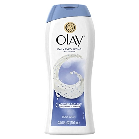 Sữa tắm Olay Daily Exfoliating with sea salts 700ml