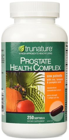 Trunature Prostate Health Complex - Thuốc bổ chống ung thư tiền liệt tuyến