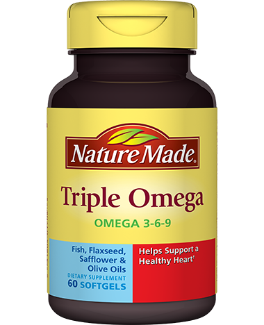 Triple Omega 3 6 9 Nature Made