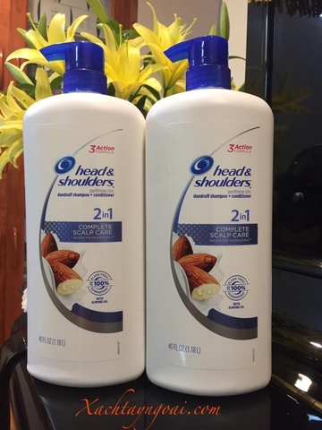 Dầu gội Head & Shoulders 2in1 Complete Scalp Care - 3 Action Formula (1.18l)