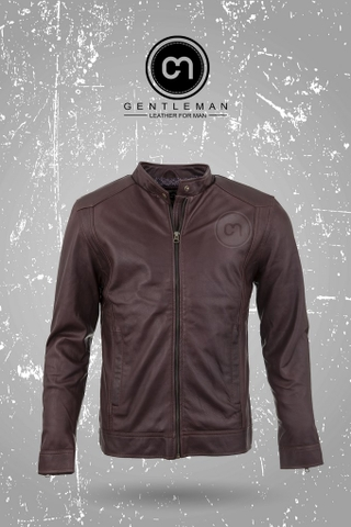 Áo Da Thật, Áo Da Dê Thật LEATHER JACKET-ADD71-N