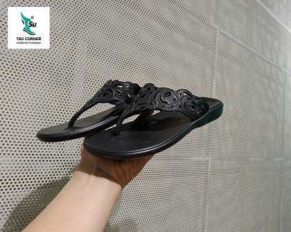MONOBO SLIPPERS BLACK BLACK