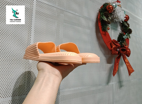 MONIGA WOMEN SLIDES LIGHT ORANGE