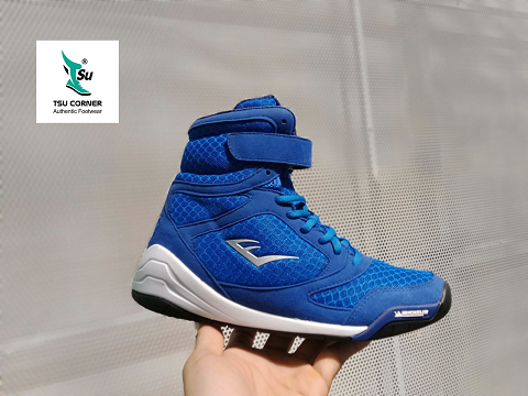 E. VERLAST BASKET BALL SHOES SEA-BLUE