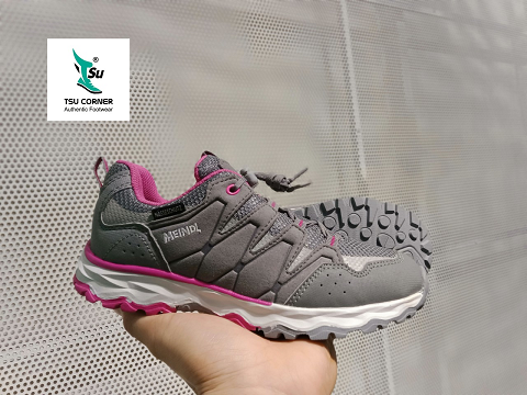 M. DL KIDS TREKKING LOW GREY PINK