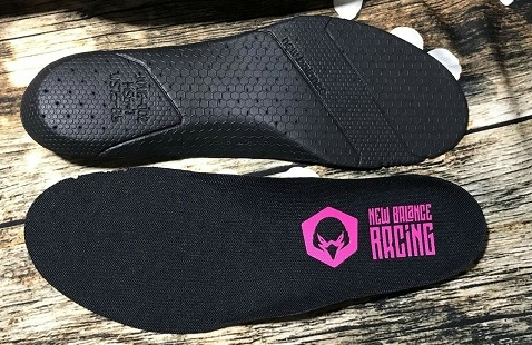 NEW BALANCE RACING INSOLE BLACK PINK