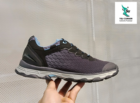 M. DL TRAIL RUNNING SHOES BLACK BLUE
