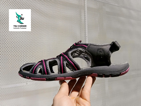O. ZARK TREKKING SANDALS BLACK PURPLE