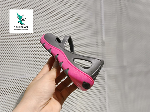 MONOBO CASTING SANDALS GREY PINK