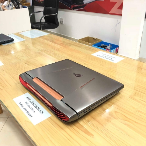 Laptop Asus Gaming G752VS Top Máy Chơi Games 2017  (Intel Core i7-6820HK 2.7GHz, 32GB RAM, 1256GB (256GB SSD + 1TB HDD), VGA NVIDIA GeForce GTX 1070 - 8GB DDR5, 17.3 inch, Free DOS)