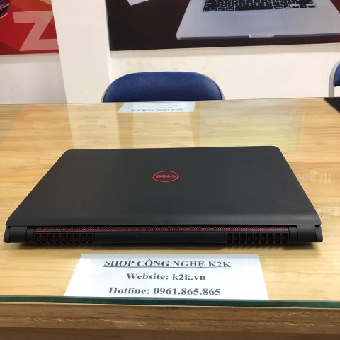 DELL Inspiron 5577 Intel Core i5 7th Gen 7300HQ (2.50 GHz) / 8GB RAM DDR4/ 1TB HDD / NVIDIA GeForce GTX 1050 4 GB Memory/ 15.6' Full HD Windows 10 Gaming Laptop ( Like new 99%)