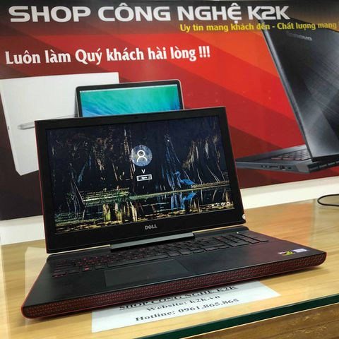 Dell Inspiron 7567 (Intel Core i5-7300HQ 2.5GHz, 8GB RAM, 1TB HDD, VGA NVIDIA GeForce GTX 1050, 15.6 inch, Windows 10)