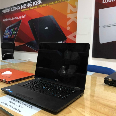 Laptop Dell Laltitude E7480, Intel Core i5-7300U, 8GB RAM, 512GB SSD, 14 Inch FHD, Intel Graphics 520