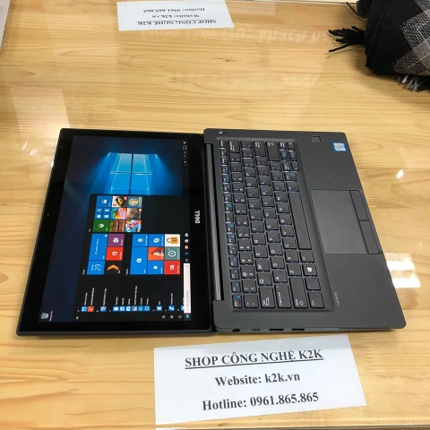 Dell Latitude 7280 (Intel Core i7-7600U 2.8GHz, 16GB RAM, 256GB SSD, VGA Intel HD Graphics 620, 12.5 inch, Windows 10 Pro 64 bit)