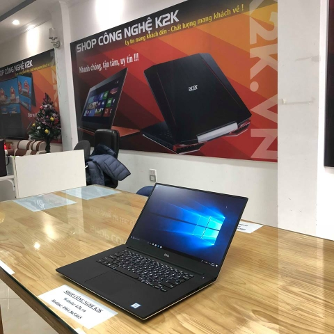 DELL PRECISION M5520 / Xeon E3-1505M v6 / 16GB DDR4 / 512GB NVME / M1200 - 4GB GDDR5 / 15.6 INCH FULL HD / Windows 10 Pro.