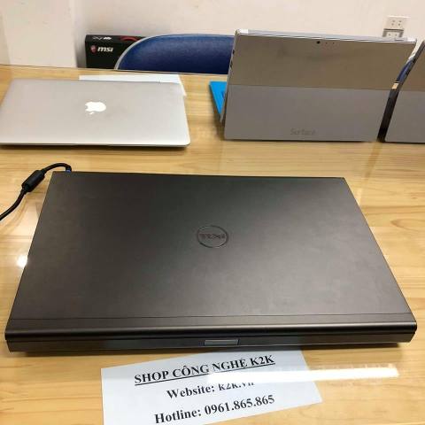 Dell Precision M6700 (Intel Core i7-3740QM 2.7GHz, 8GB RAM, 628GB (128GB SSD + 500GB HDD), VGA NVIDIA Quadro K5000M - 4GB, 17.3 inch Full HD)
