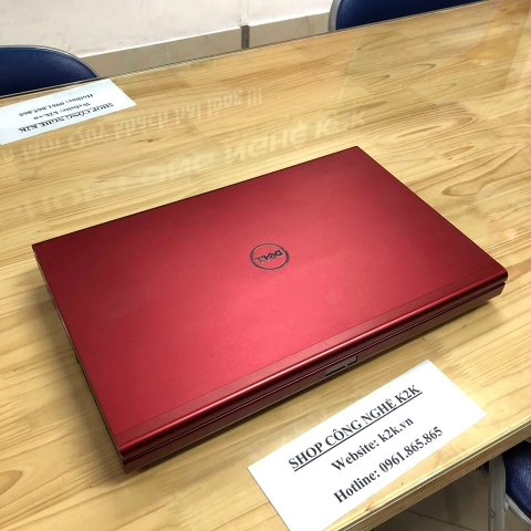 Dell Precision M6700 Red Covet (Intel Core i7-3840QM 2.8GHz, 8GB RAM, 256GB SSD, VGA NVIDIA Quadro K5000M - 4GB GDDR5, 17.3 inch IPS RGB Full HD)