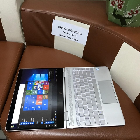 Laptop HP Spectre x360 13 / i7-7500U / 16GB RAM / 1T SSD M2 / VGA onboard, Intel HD Graphics 620 / 13' Full HD Touch Screen.