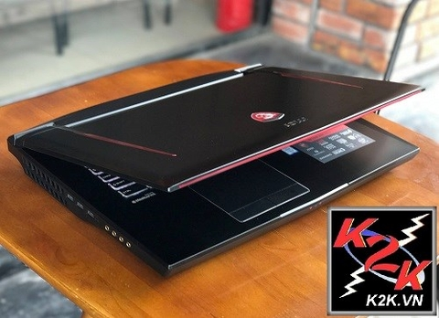 Laptop MSI GT73 Core i7-7820HK / 16GB RAM / 256GB SSD +1TB HDD / GTX 1080 - 8GB GDDR5 / 17.3 Inch 4K (3840 x 2160)/ Win 10
