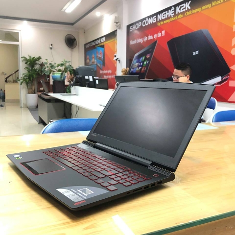 Lenovo Legion Y520 intel Core i5-7300HQ/ 8GB Ram / 256GB SSD / Nvidia GTX 1050TI/ 15.6 inch FULL HD/ Win 10