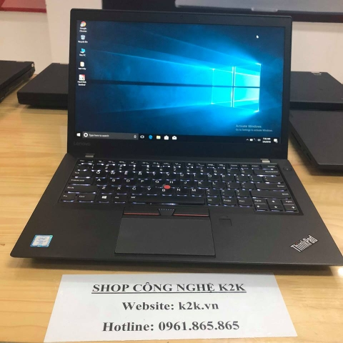 Lenovo Thinkpad T460S Core i7-6600U / 20GB RAM / 180GB SSD / 14 INCH FULL HD
