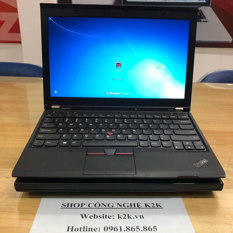 Lenovo Thinkpad X230 (Intel Core i3-3120M 2.5GHz, 4GB RAM, 500GB HDD, VGA Intel HD Graphics 4000, 12.5 inch, Windows 7 Professional 64 bit)