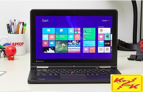 Lenovo Thinkpad Yoga 12 / i5-5200U / 4GB RAM / 180GB SSD / 12.5' Touch Screen xoay 360 độ.