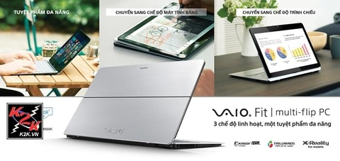 Sony Vaio Fit 14A SVF-14N12SG/S (Intel Core i3-4005U 1.7GHz, 4GB RAM, 500GB HDD, VGA Intel HD Graphics 4400, 14 inch Touch Screen Full HD (1920x1080), Windows 8 64 bit)