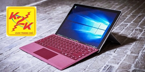 Surface Pro 6 Intel Core i7/ Ram 16Gb/ SSD 512Gb/ Màn hình 12.3 inch