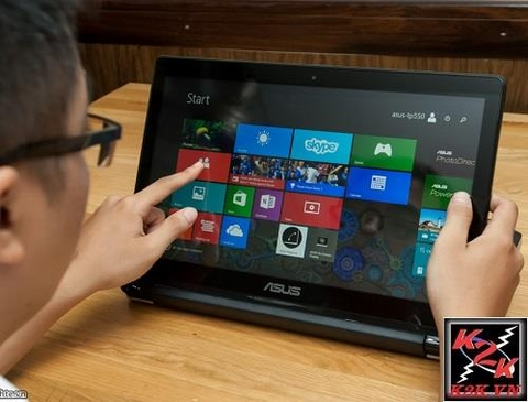 Asus Flip Q304 (Intel Core i5-7200U, 6GB RAM, 1000GB HDD, VGA Intel HD Graphics, 13.3 inch FHD Touch Screen )
