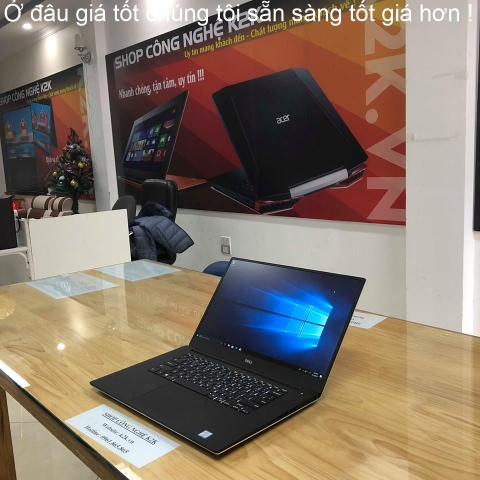 DELL PRECISION M5520 / Core i7-7820HQ / 32GB RAM / 512GB SSD / M1200 - 4GB / 15.6 INCH 4K TOUCH SCREEN / WIN 10 PRO