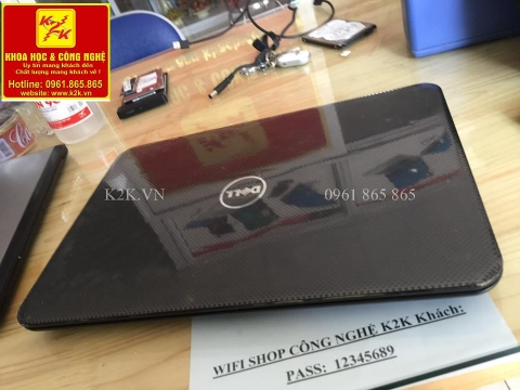 Dell Inspiron 3521 (Intel Core i3-3217U 1.8GHz, 4GB RAM, 500GB HDD, VGA Intel HD Graphics 4000, 15.6 inch, PC DOS)