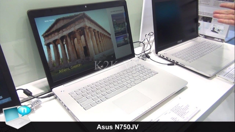 Asus N750  (Intel Core i7-4700HQ 2.4GHz, 16GB RAM, 1000GB (750GB HDD + 250GB SSD), VGA NVIDIA GeForce GT 750M, 17.3 inch, Windows 8 64 bit)