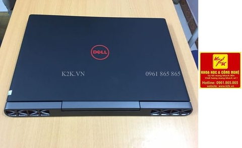 Dell Inspiron 7567 (Intel Core i7-7700HQ 2.8GHz, 8GB RAM, 1T, VGA NVIDIA GeForce GTX 1050Ti - 4GB, 15.6 inch 4K, Windows 10 Home 64 bit)