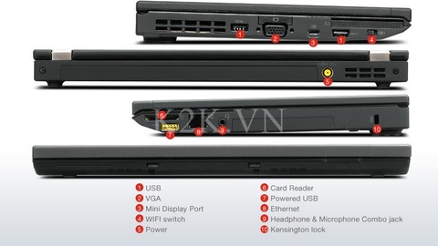 Lenovo Thinkpad X230 (Intel Core i5-3320M 2.6GHz, 4GB RAM, 320GB HDD, VGA Intel HD Graphics 4000, 12.5 inch, Windows 7 Professional 64 bit)