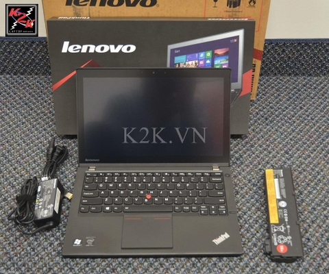 Lenovo Thinkpad X240 (Intel Core i5-4300U 1.9GHz, 4GB RAM, 500GB HDD, VGA Intel HD Graphics 4400, 12.5 inch, Windows 8 64 bit)