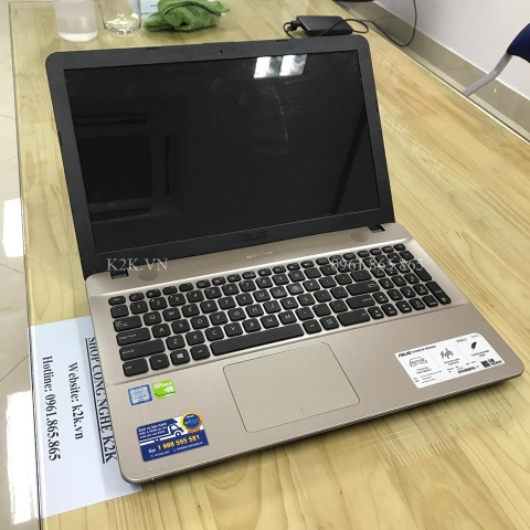 Asus X541UV-XX143D (Intel Core i5-6198U 2.3GHz, 4GB RAM, 500GB HDD, VGA Intel Graphics HD 510, 15.6inch, Free DOS)