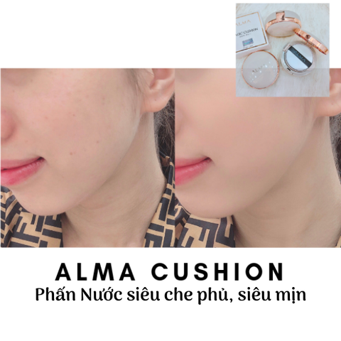 PHẤN NƯỚC MAKEUP ALMA - NEW VERSION 2