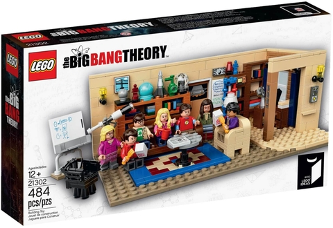 LEGO Ideas 21302 - Buổi học Lý thuyết Big Bang (LEGO Ideas The Big Bang Theory 21302)