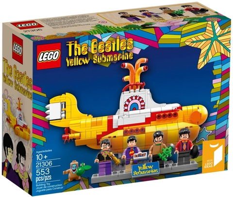 LEGO Ideas 21306 - Yellow Submarine của nhóm Beatles (LEGO Ideas Yellow Submarine 21306)