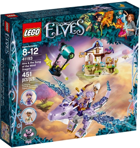 LEGO Elves 41193 - Rồng Gió của Aira (LEGO Elves 41193 Aira & the Song of the Wind Dragon)