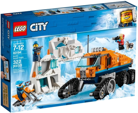 LEGO City 60194 Arctic Scout Truck