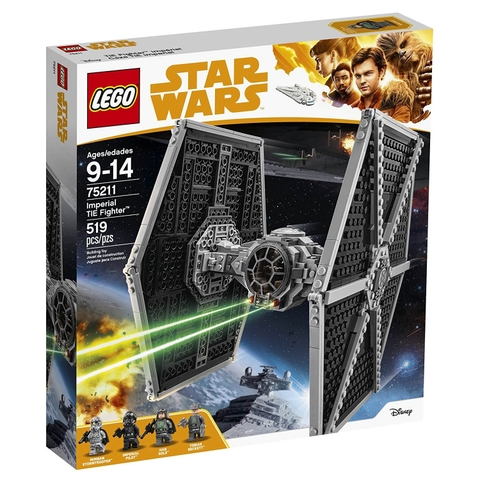 LEGO Star Wars 75211 - Phi Thuyền TIE Fighter Hạng Nặng (LEGO 75211 Imperial TIE Fighter)