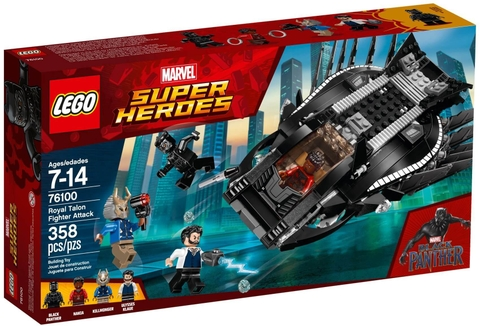 LEGO Marvel Super Heroes 76100 - Phi Thuyền Báo Đen (LEGO Marvel Super Heroes 76100 Royal Talon Fighter Attack)