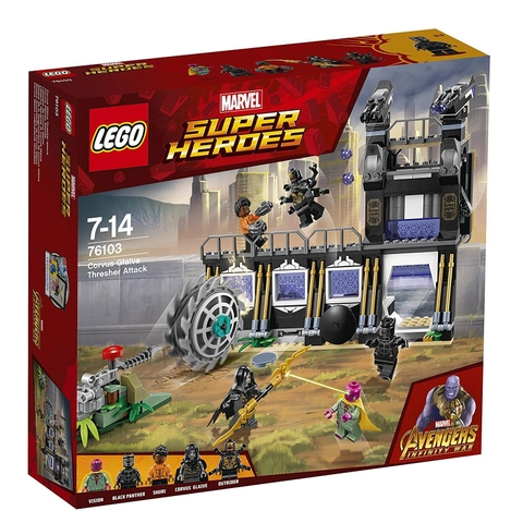 LEGO Marvel Super Heroes 76103 - Avengers đại chiến Corvus Glaive (LEGO Marvel Super Heroes 76103 Corvus Glaive Thresher Attack)