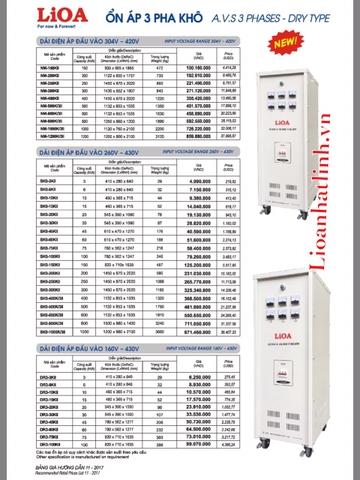 LIOA 3 PHA SH3-45K