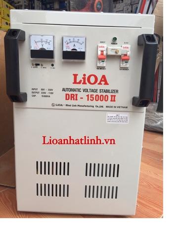 Ổn Áp Lioa DRI-15.000 II Dải 90v ~250V
