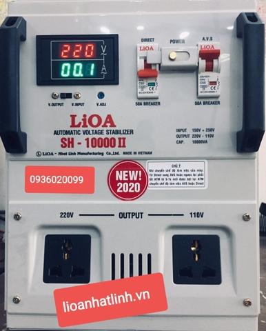 Lioa 1 pha 10 kva dải 150v kiểu SH