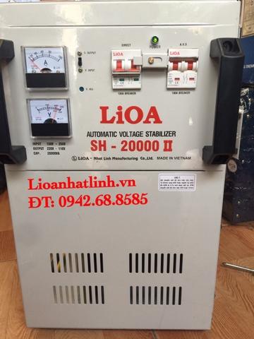 ổn áp lioa SH-20,000(150V~250V)
