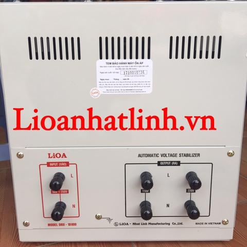 Lioa 10 KVA DRII 50V~250V